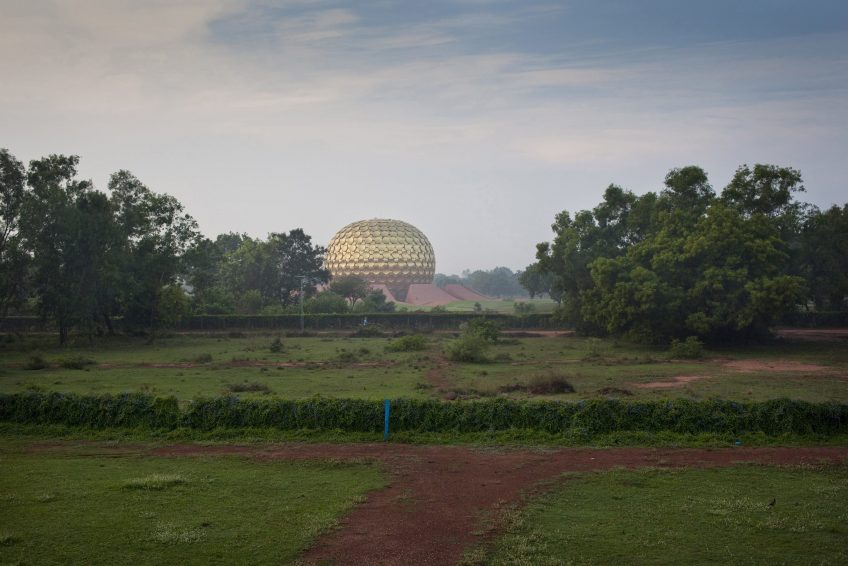 """Matrimandir, Placve of Meditation""#""Matrimandir, Placve of Meditation"""