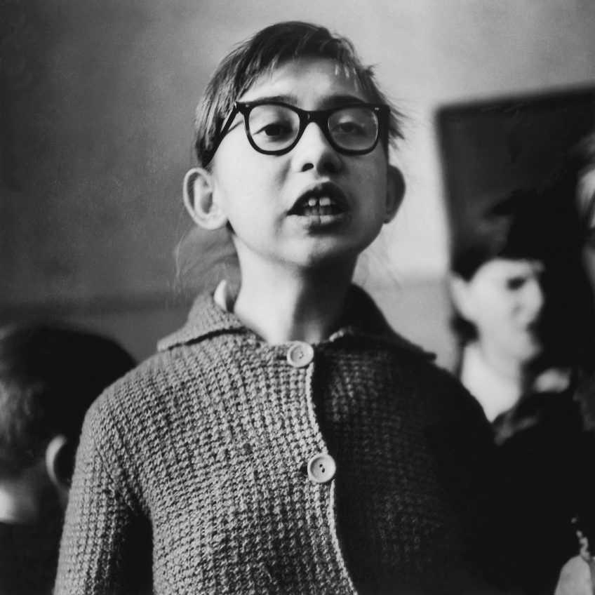 Antanas Sutkus-1962_Shkola dlia slepyh detei