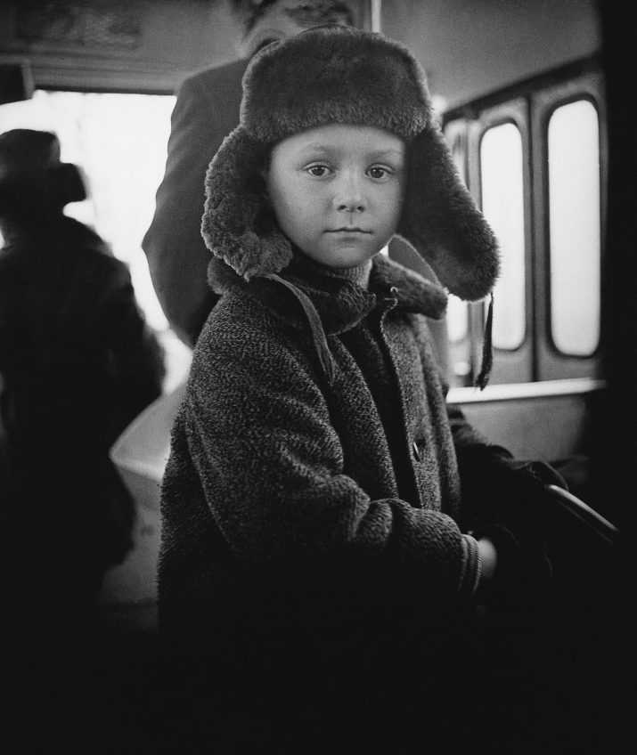 Antanas Sutkus-1972-In the Bus