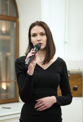 Ольга Юдина, куратор выставки, представитель коллекционера Рейнхарда Шульца